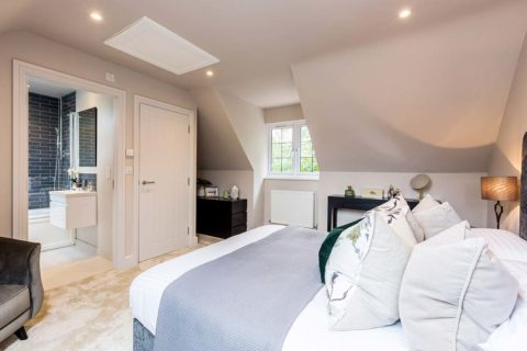 Donnington New Homes – Lawrence Mews Bedroom ensuite
