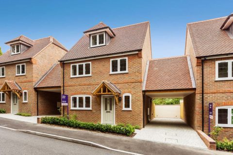 Donnington New Homes – Lawrence Mews Front