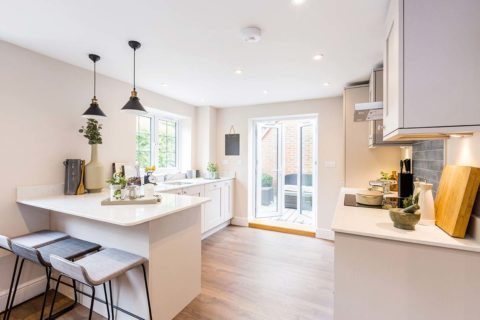 Donnington New Homes – Lawrence Mews kitchen
