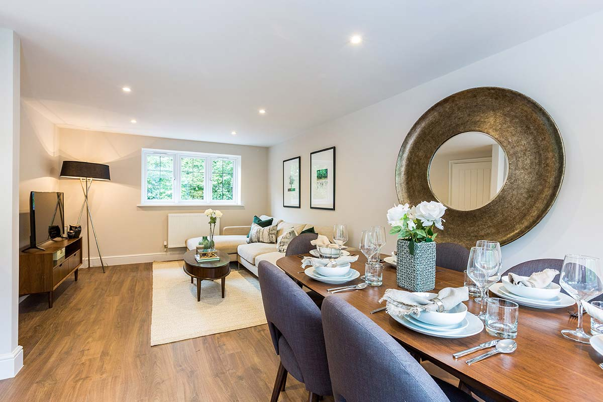 Donnington New Homes – Lawrence Mews living dining room