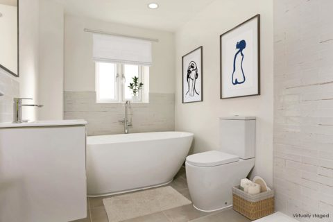 Kiln gardens interior bathroom donnington new homes