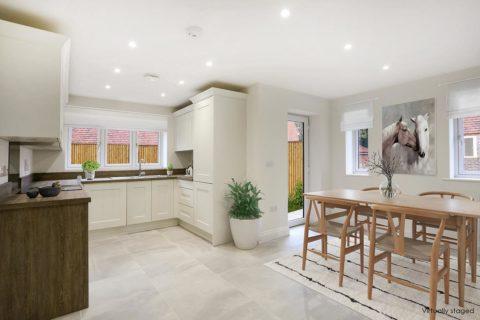 Kiln gardens interior kitchen donnington new homes
