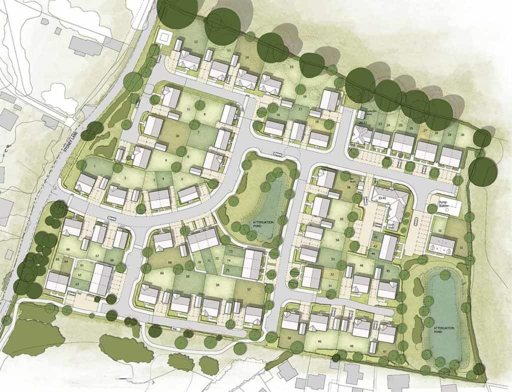 Coley Farm Site plan