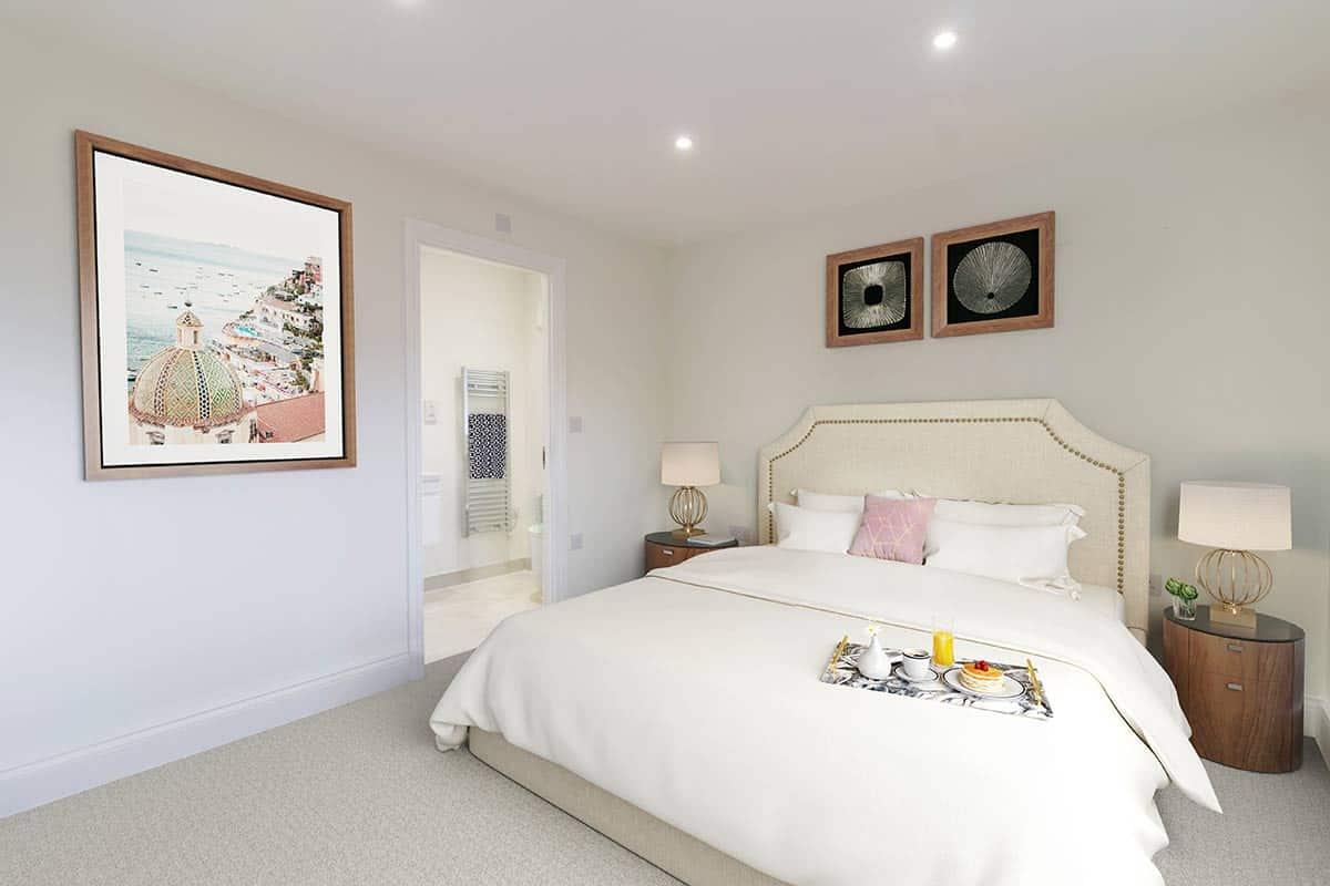 Bedroom 01 Kiln Gardens Donnington New Homes