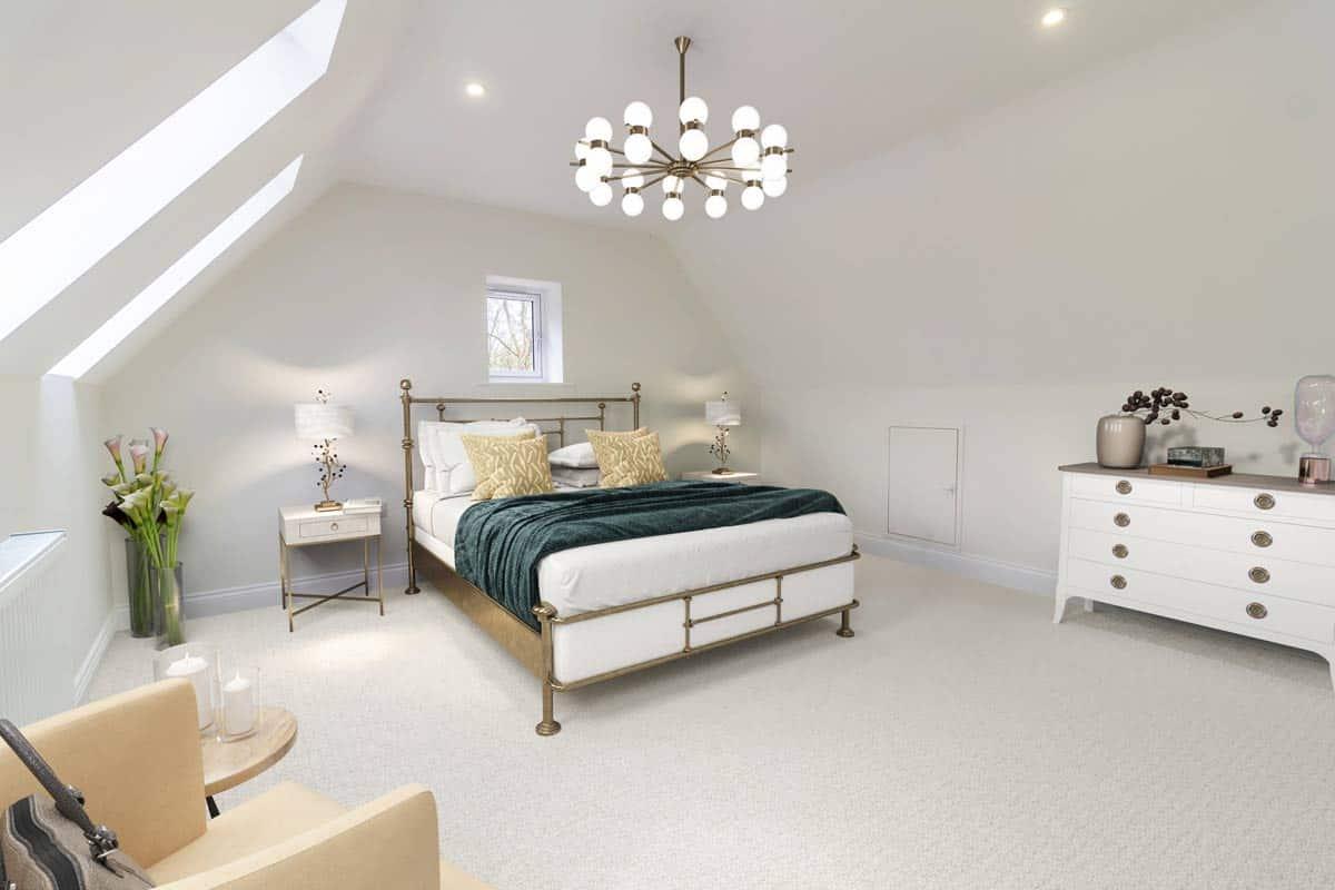 Bedroom 03 Kiln Gardens Donnington New Homes