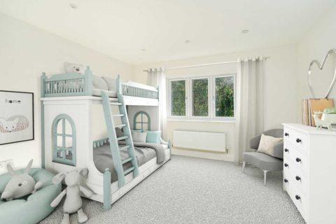 Kids bedroom Kiln Gardens Donnington New Homes