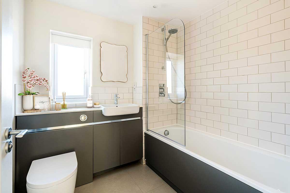 bathroom Kiln Gardens Donnington New Homes