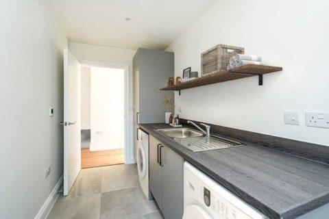 utility room Kiln Gardens Donnington New Homes